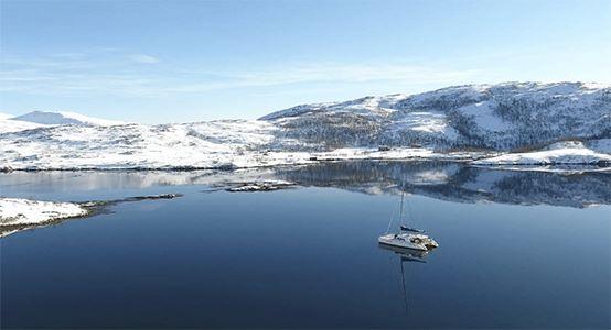 Nordlys, Rensdyr og Isbjerge